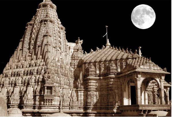 Jain Temple in the Moonlight | Palitana, India